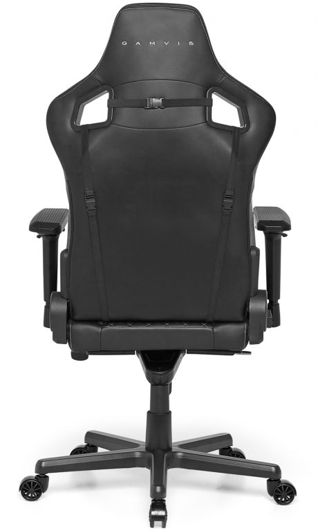 Gamvis ELITE 2.0 XL Quilted Gaming Chair – Black/Diamond White