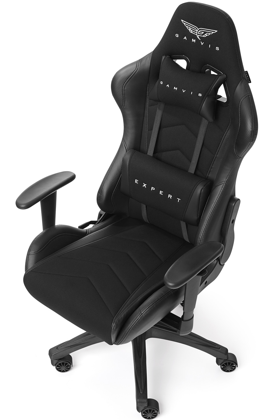Gamvis EXPERT Fabric Gaming Chair - Black