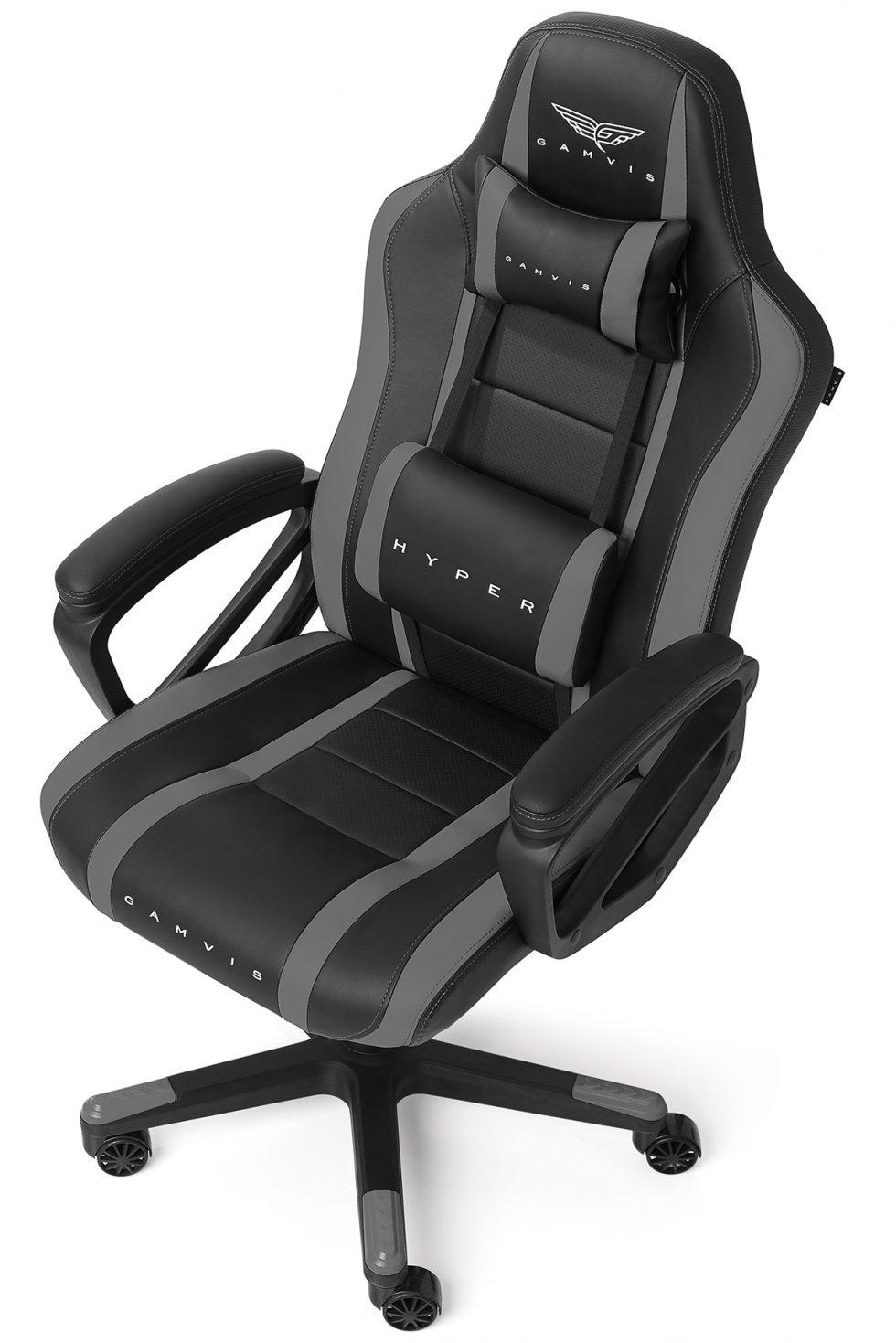 Gamvis Hyper Gaming Chair Black Gray