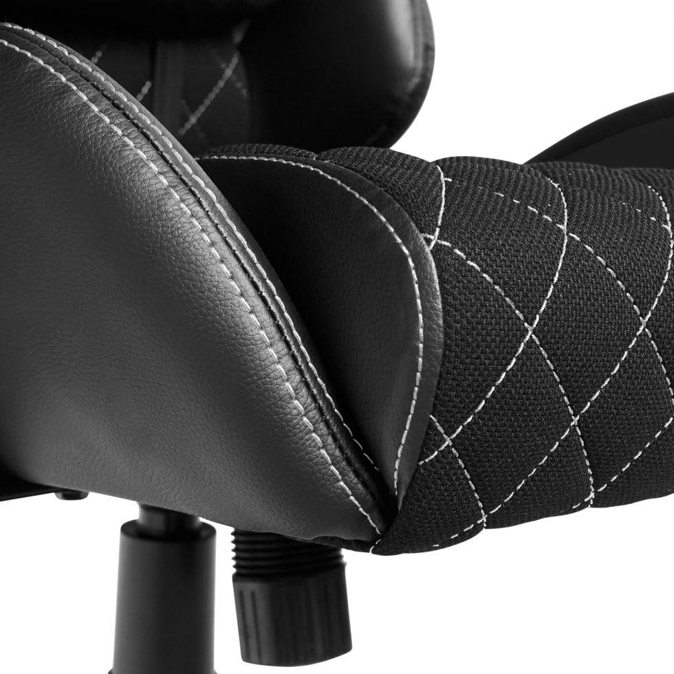 Gamvis phantom gaming chair fabric black