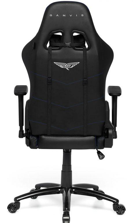 Gamvis PHANTOM Fabric Gaming Chair - Black/Blue