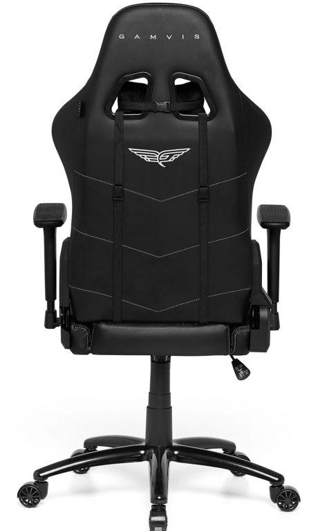 Gamvis PHANTOM Fabric Gaming Chair - Black/White